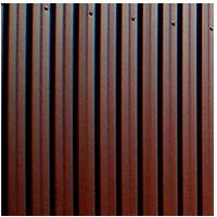 Забор из профлиста горизонтальный