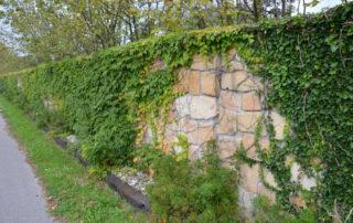 Каменный забор замечательный!